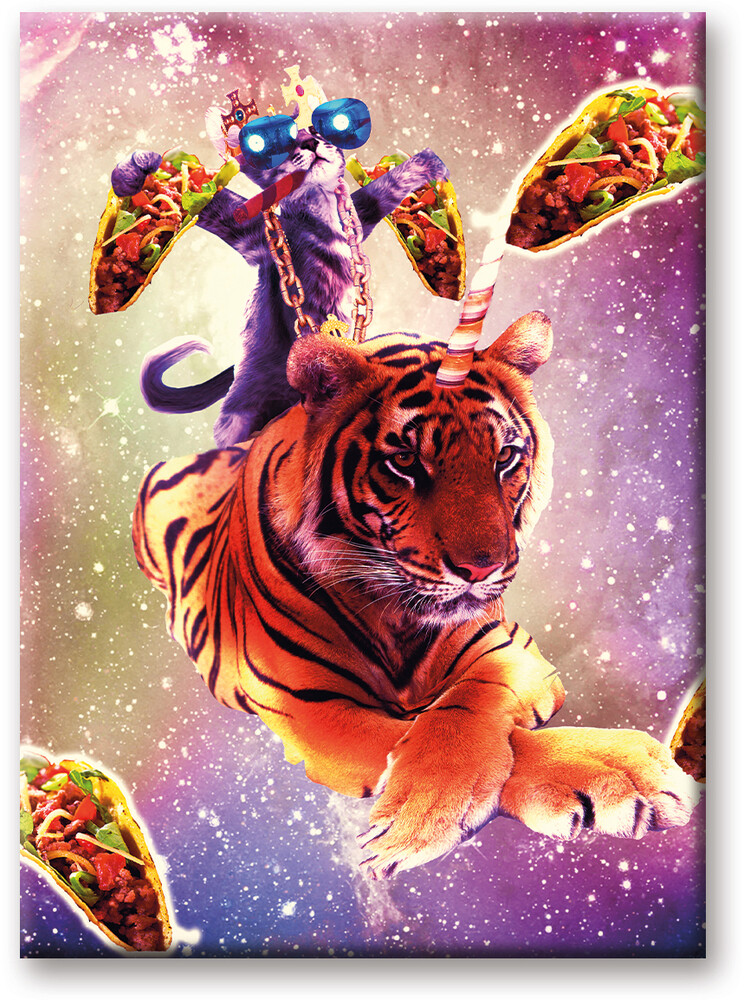 Random Galaxy Thug Kitty 2.5 X 3.5 Flat Magnet - Random Galaxy Thug Kitty 2.5 x 3.5 Flat Magnet