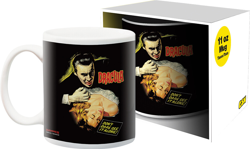 Hammer Dracula Girl 11Oz Boxed Mug - Hammer Dracula Girl 11oz Boxed Mug