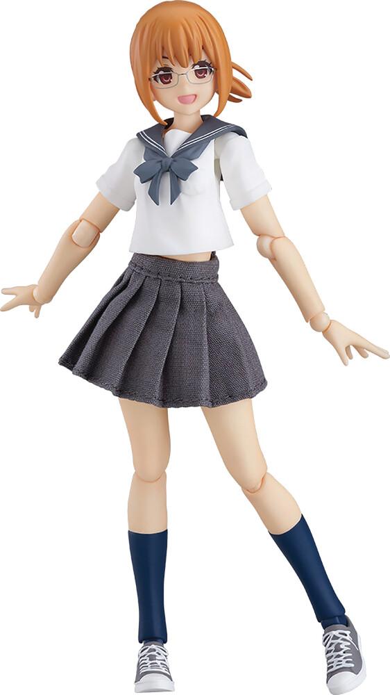Good Smile Company - Good Smile Company - Emily Female Body Sailor Outfit Figma ActionFigure