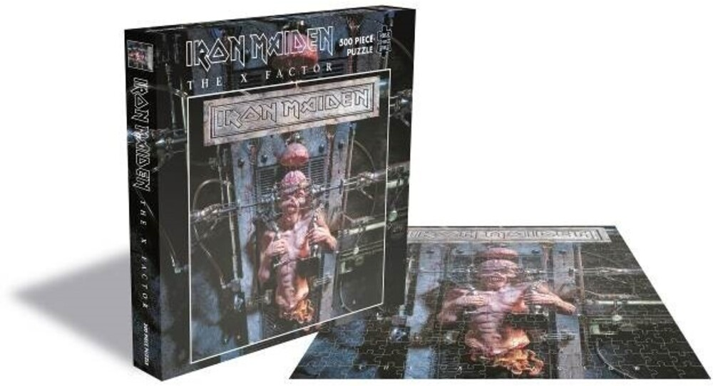 Iron Maiden the X Factor (500 Piece Jigsaw Puzzle) - Iron Maiden The X Factor (500 Piece Jigsaw Puzzle)