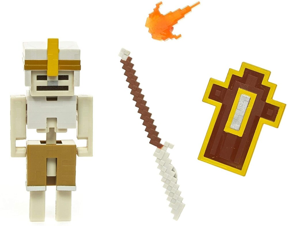 - Mattel Collectible - Minecraft Dungeons 3.25 Skeleton