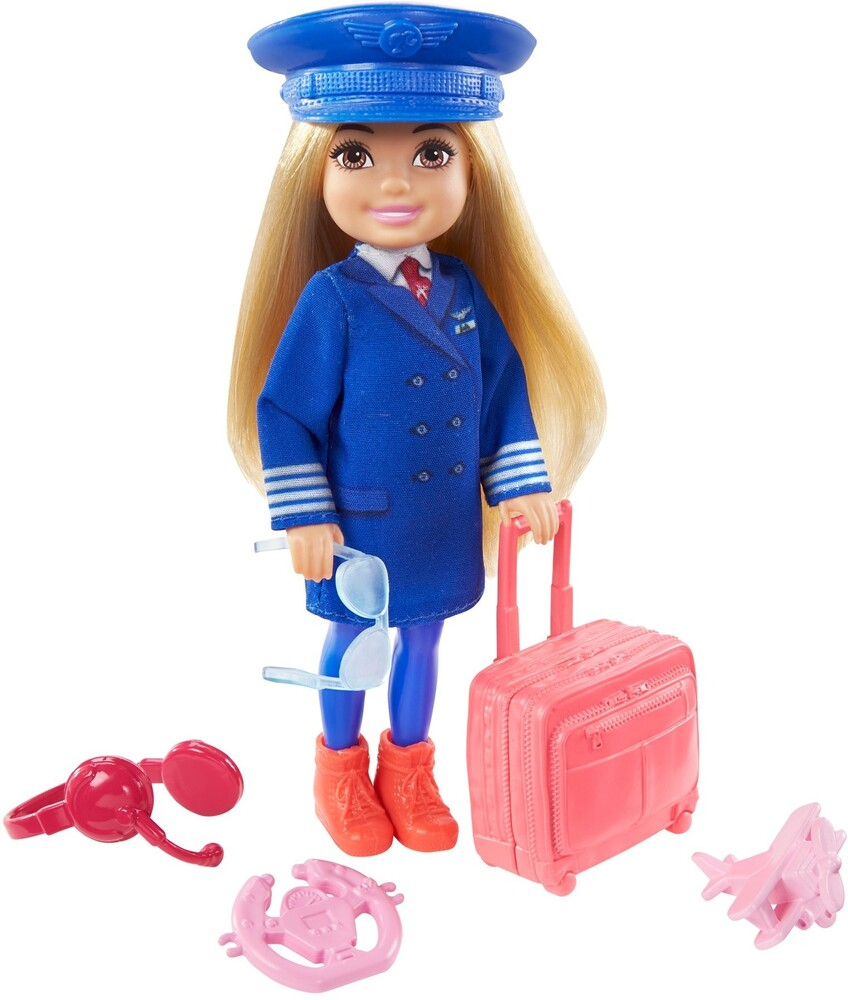 - Mattel - Barbie Chelsea Can Be Pilot Doll and Playset