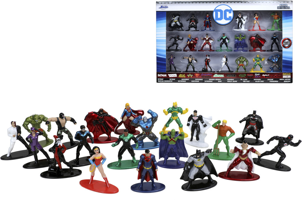 - Nano Metalfigs Dc 20 Pk Wave 3 (Clcb) (Fig)