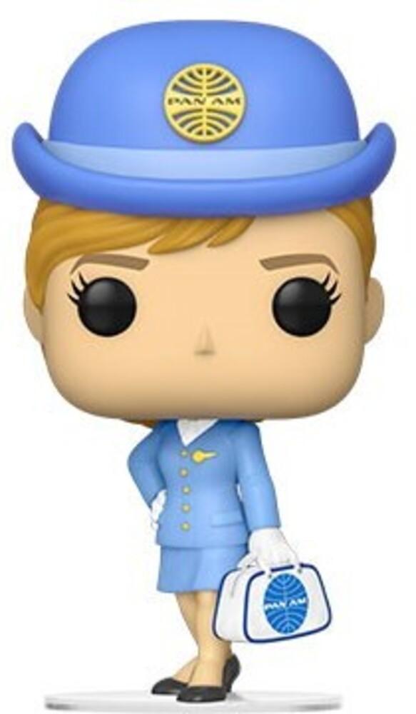 Funko Pop! AD Icons: - Pan Am- Stewardess1 W/ White Bag (Vfig)