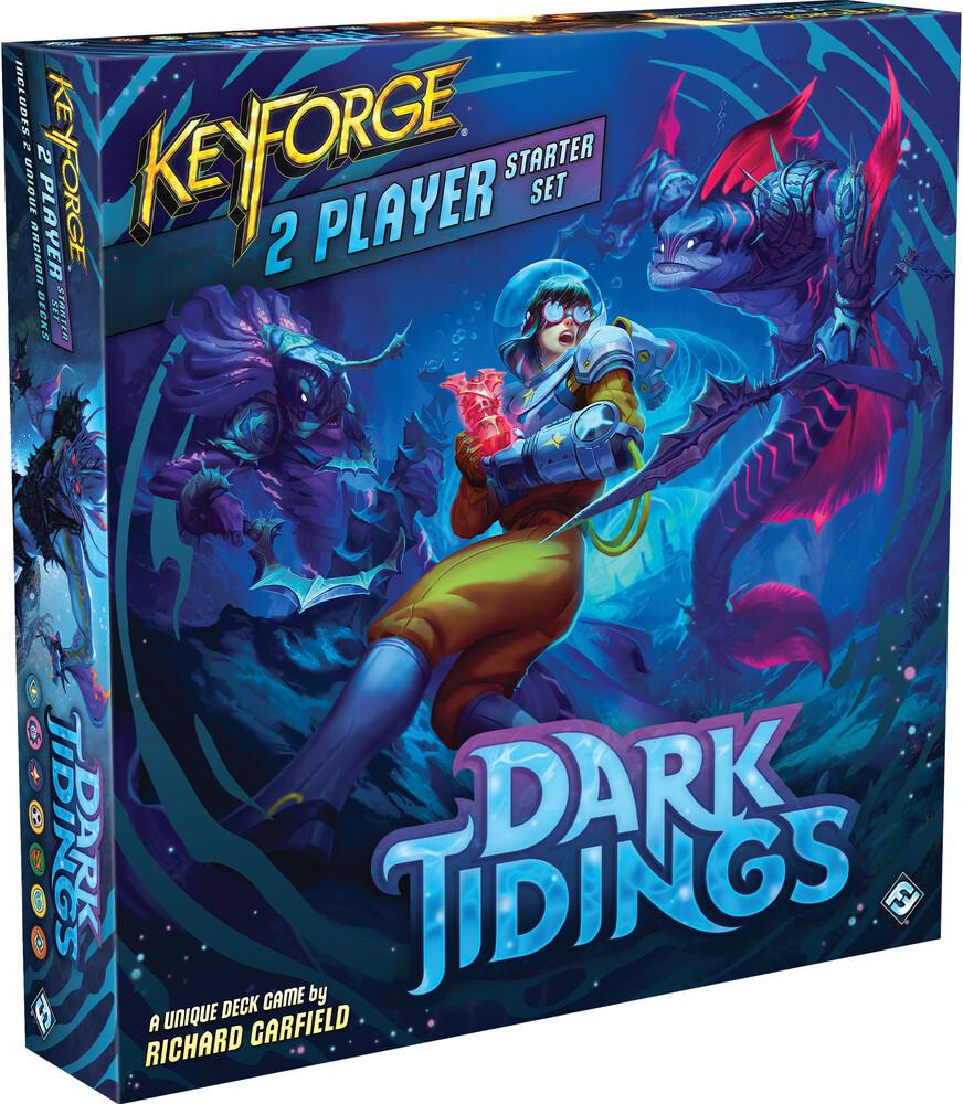 - Keyforge Dark Tidings 2 Player Starter Set (Crdg)