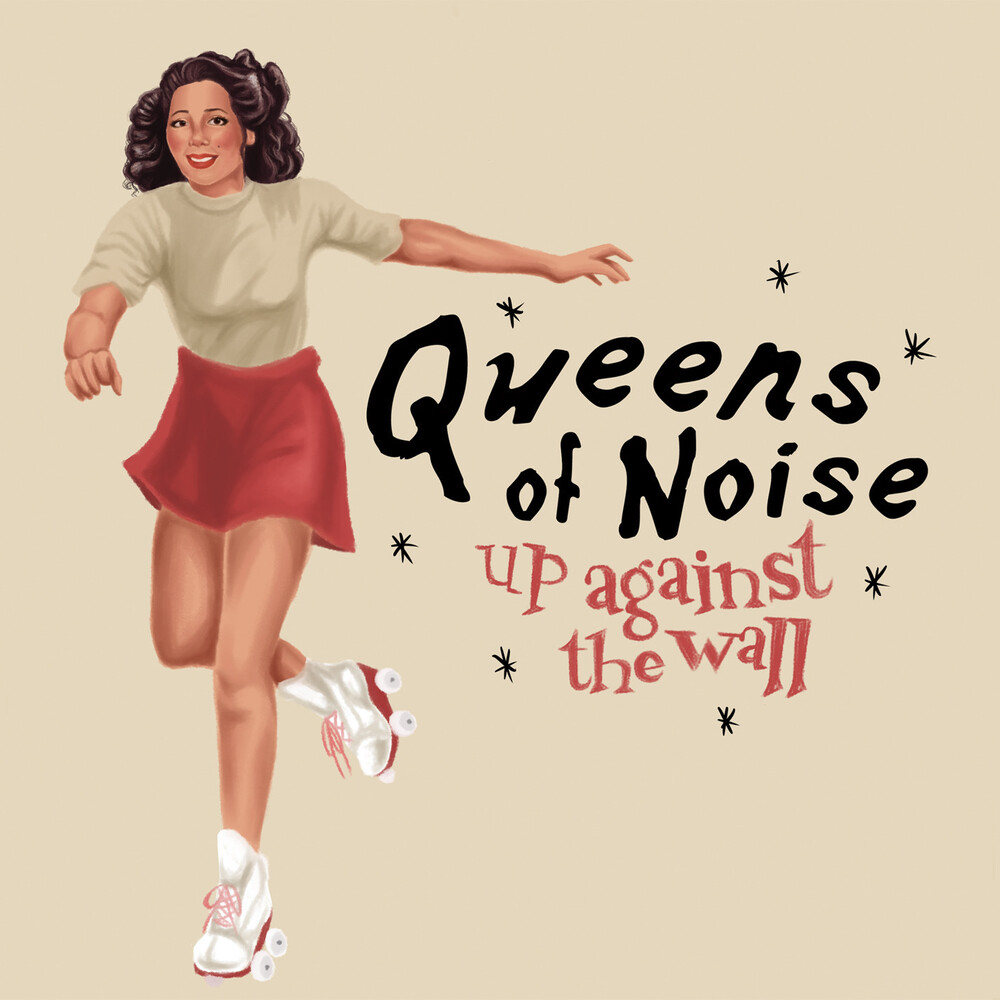 Queens Of Noise - Up Against The Wall / Victimized [Colored Vinyl] [Limited Edition]