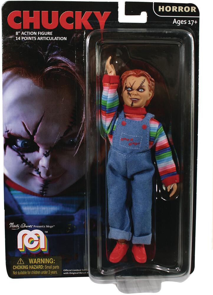 - Mego Horror Chucky 8in Af (Afig) (Clcb)