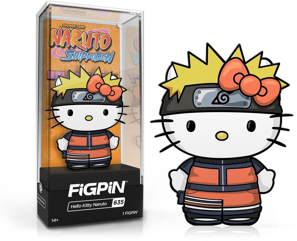 - FiGPiN Naruto Shippuden X Hello Kitty - Hello Kitty Naruto #635