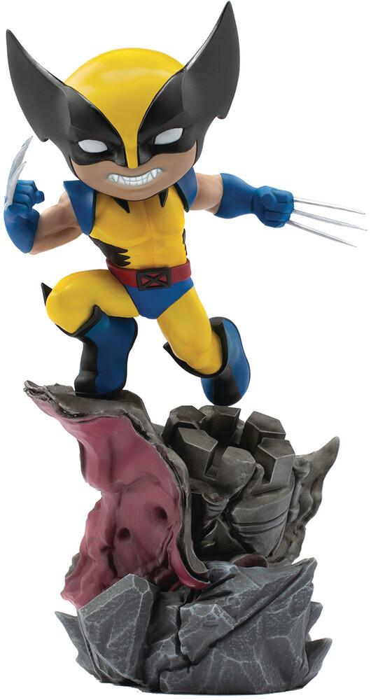 Iron Studios - Minico X-Men Wolverine Vinyl Statue (Clcb) (Vfig)