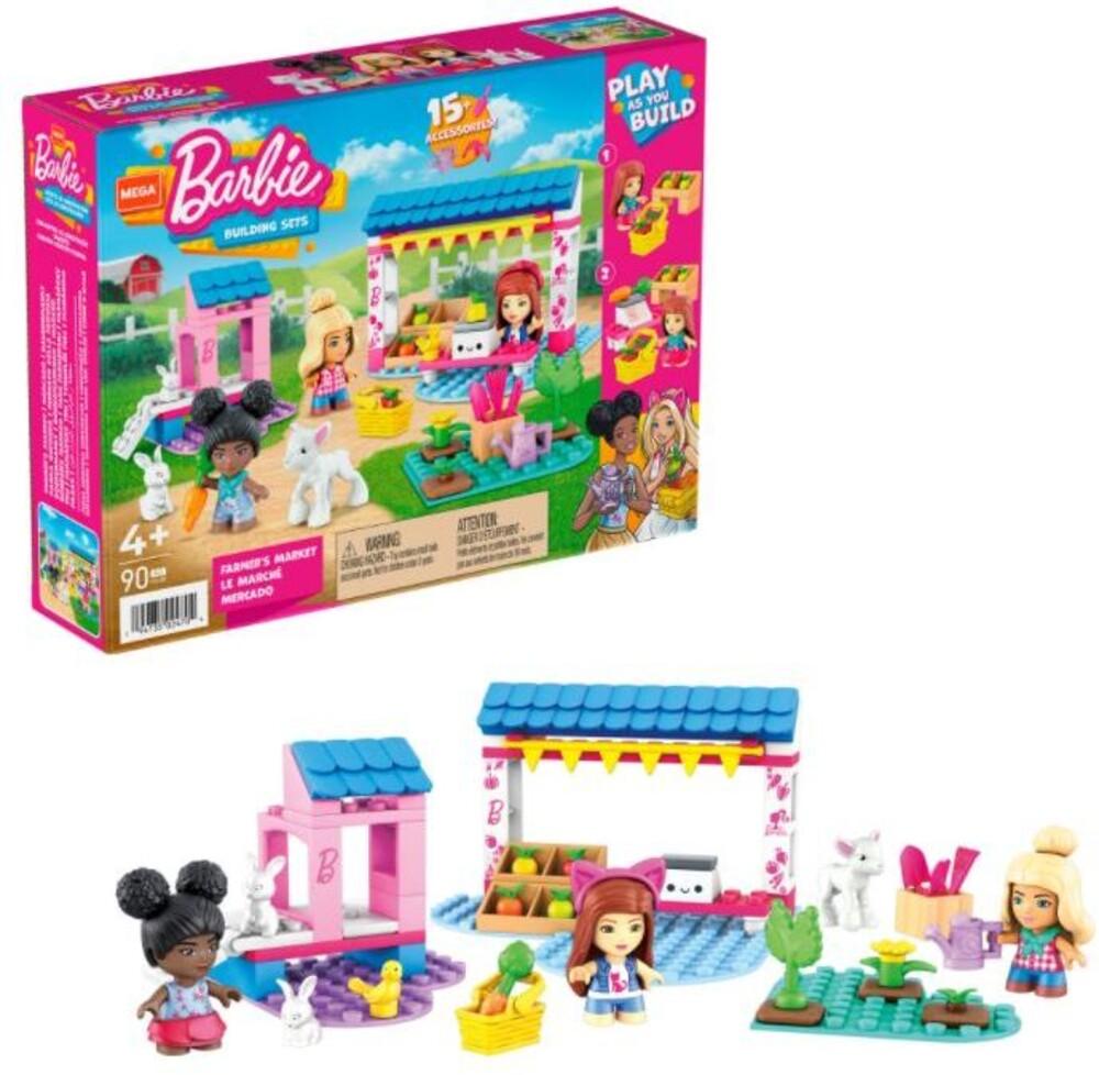Mega Brands Barbie - Barbie Farmers Market (Fig) (Brik)