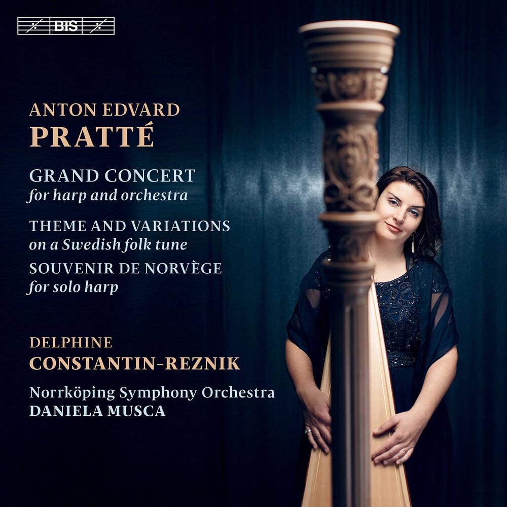 Pratte / Constantin-Reznik / Norrkoping Symphony - Works For The Harp (Hybr)