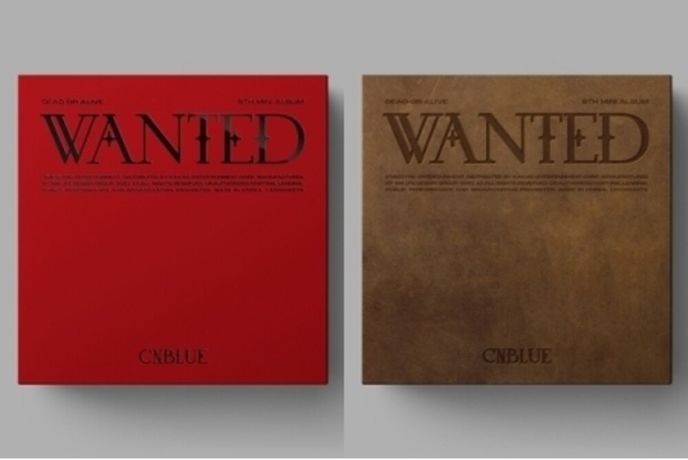 CNBlue - Wanted [With Booklet] (Pcrd) (Phot) (Asia)