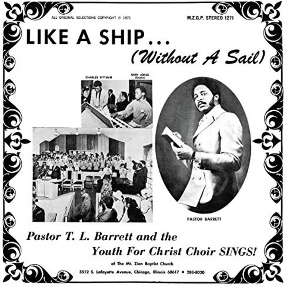Pastor Barrett TL / Youth For Christ Choir - Like A Ship (without A Sail)