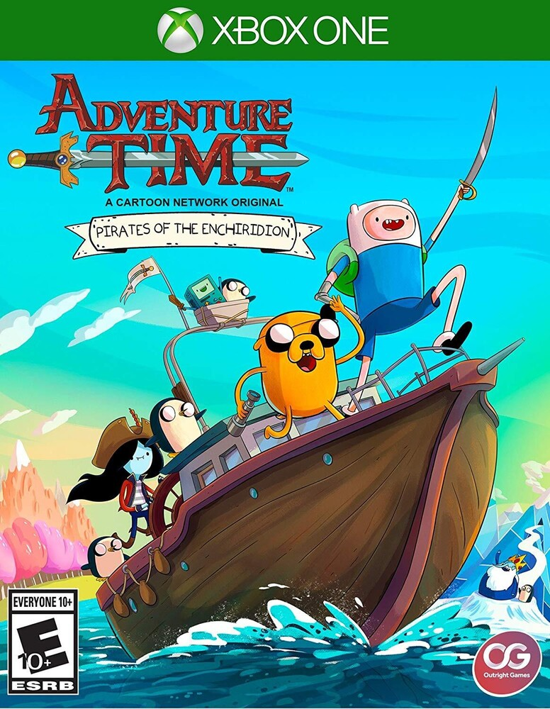 - Adventure Time: Pirates Of The Enchiridion