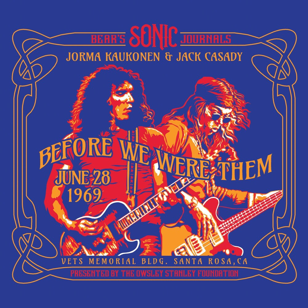 Jorma Kaukonen - Bear's Sonic Journals: Before We Were Them