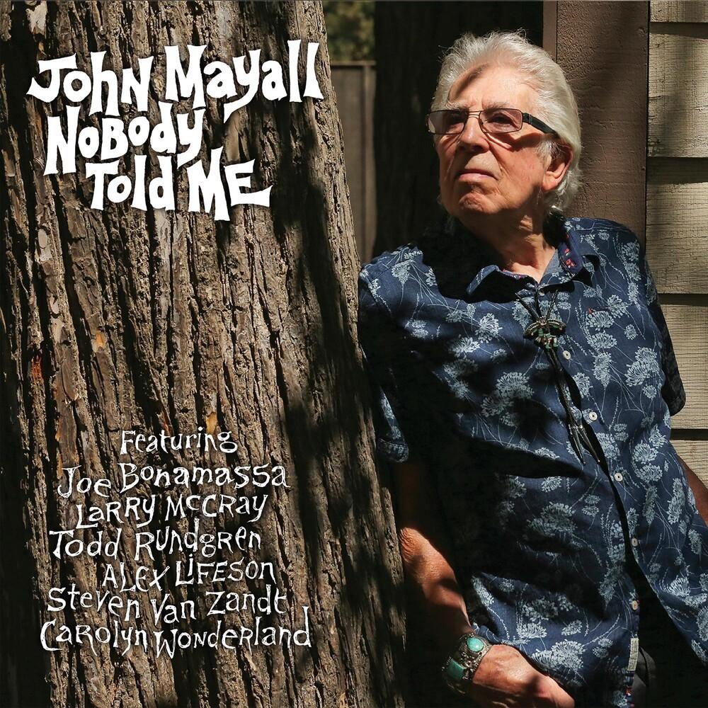 John Mayall - Nobody Told Me [LP]