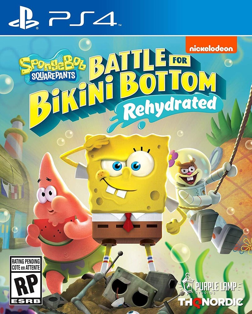 - Spongebob Battle For Bikini Bottom Rehydrated