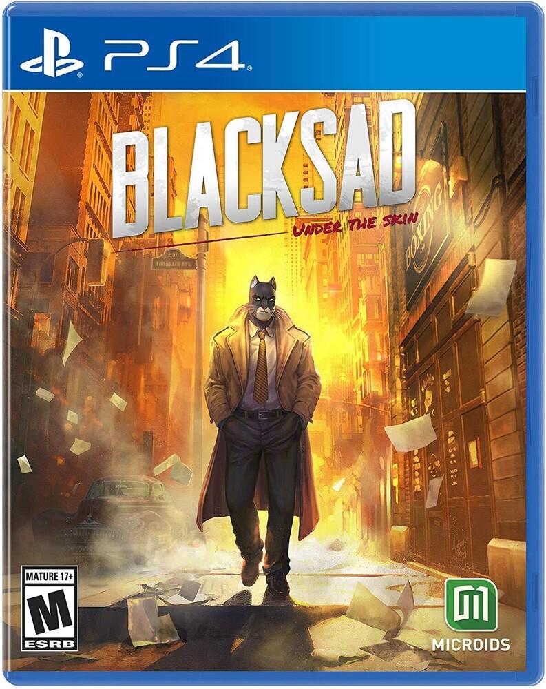 - Blacksad: Under The Skin Limited Edition for PlayStation 4