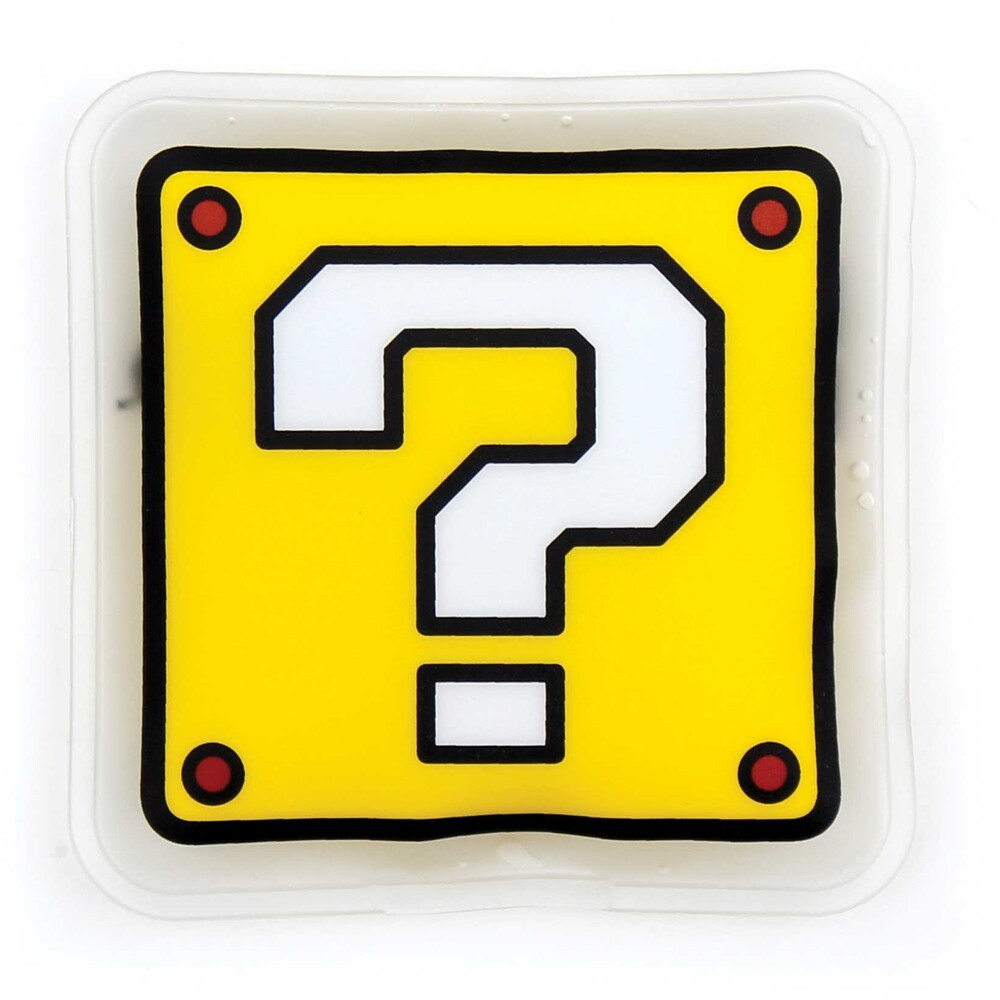 Kids Cold Freezer Pack - Nintendo Question Block - Bumkins Kids Cold Freezer Pack - Nintendo Question Block