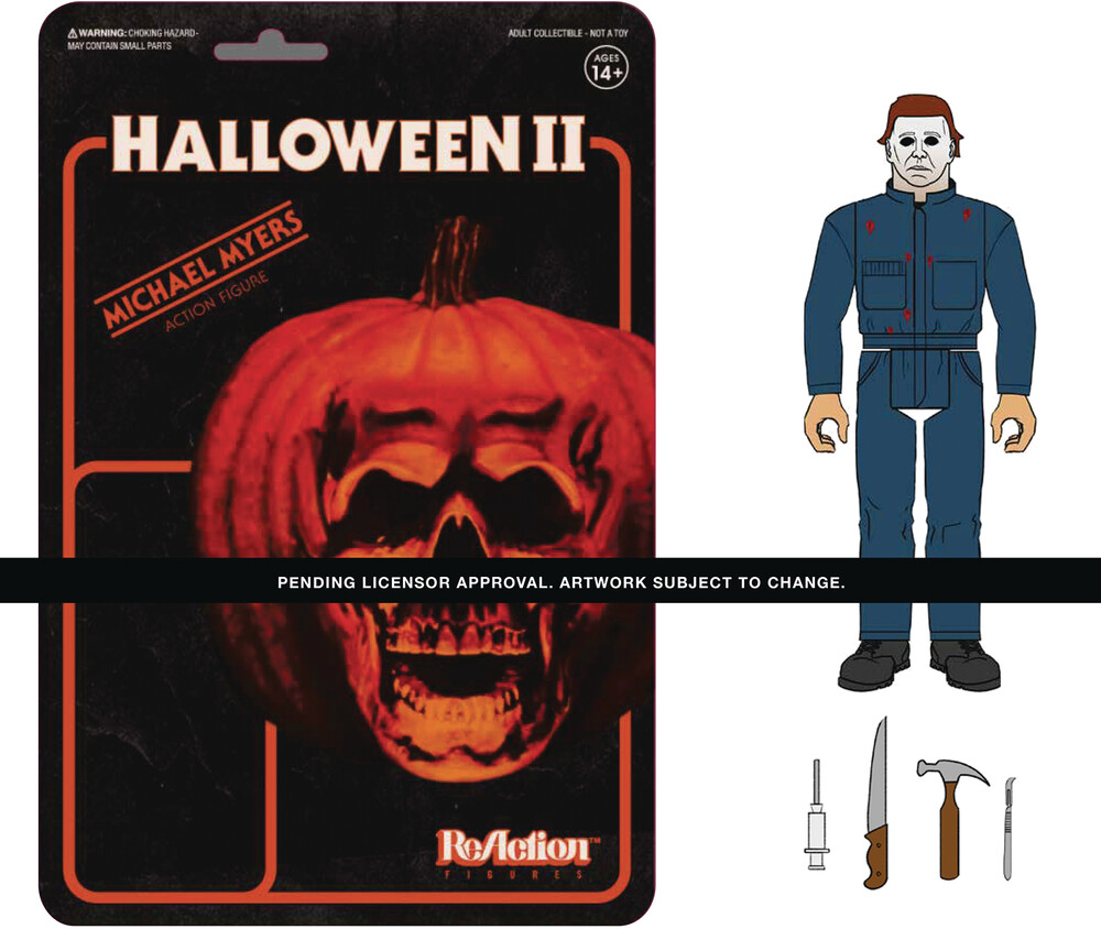 Halloween 2 Reaction Wave 1 - Michael Myers - Super7 Halloween 2 ReAction Wave 1 - Michael Myers