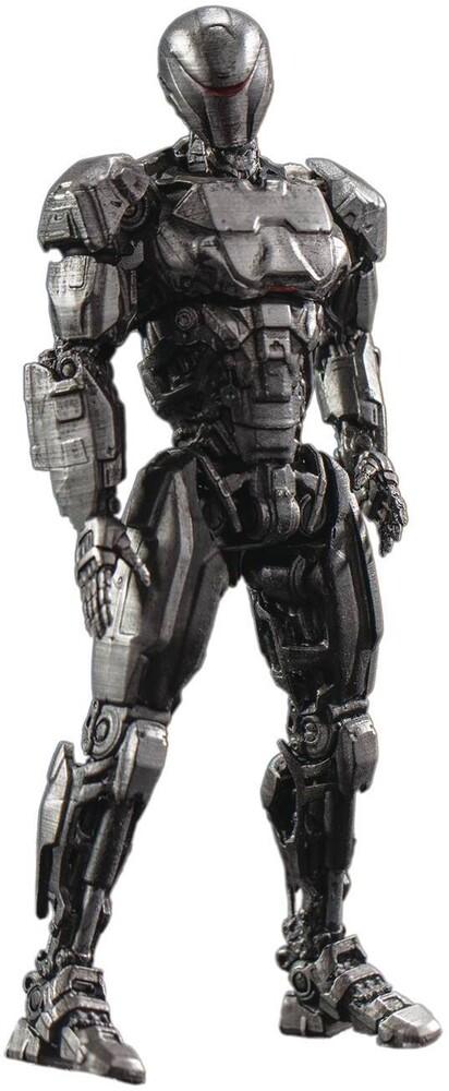 Hiya Toys - Hiya Toys - Robocop 2014 Em208 PX 1/18 Scale Figure 2Pk