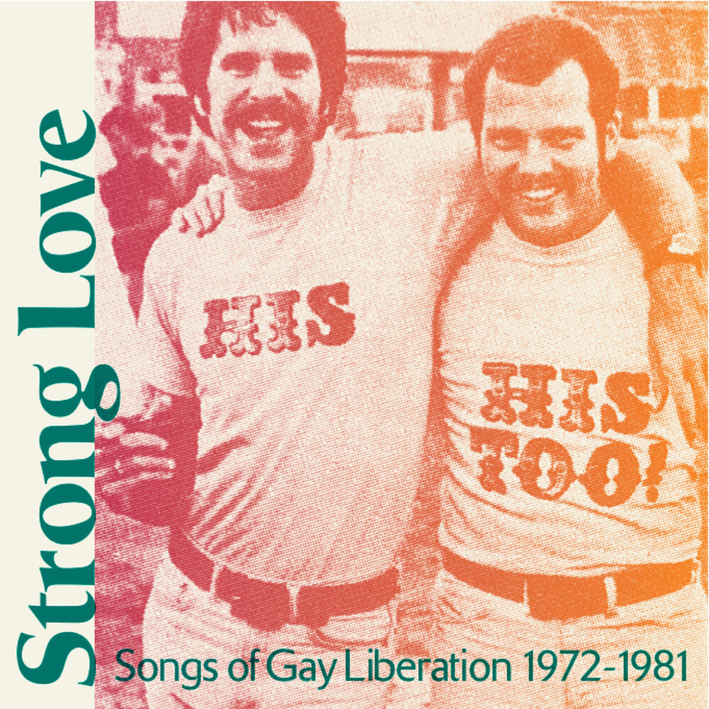 Various Artists - Strong Love: Songs Of Gay Liberation 1972-81 [Baby Pink LP]