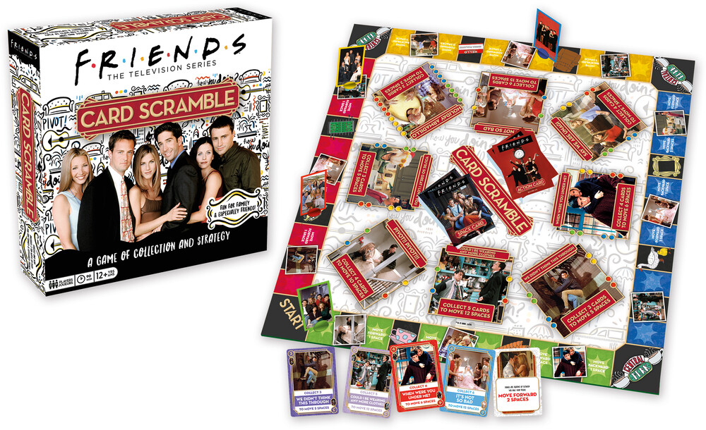 Friends the Television Series Card Scramble - Friends the Television Series Card Scramble