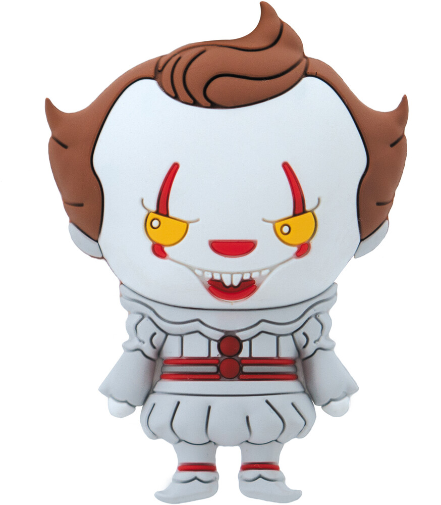 Wb Horror - It Pennywise 3D Foam Magnet - WB Horror - IT Pennywise 3D Foam Magnet