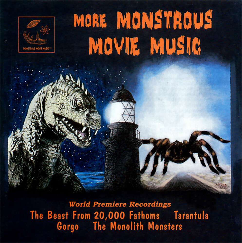 More Monstrous Movie Music 2 / Various - More Monstrous Movie Music (World Premiere Recordings)