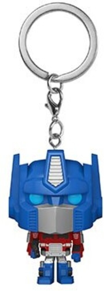 - FUNKO POP! KEYCHAIN: Transformers- Optimus Prime