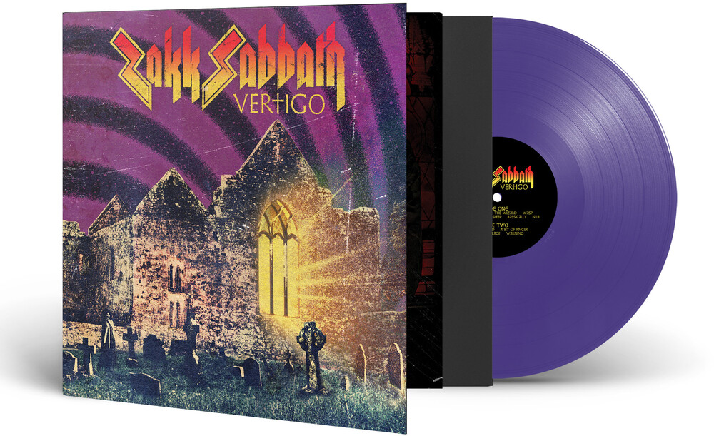 Zakk Sabbath - Vertigo [Limited Edition Purple LP]