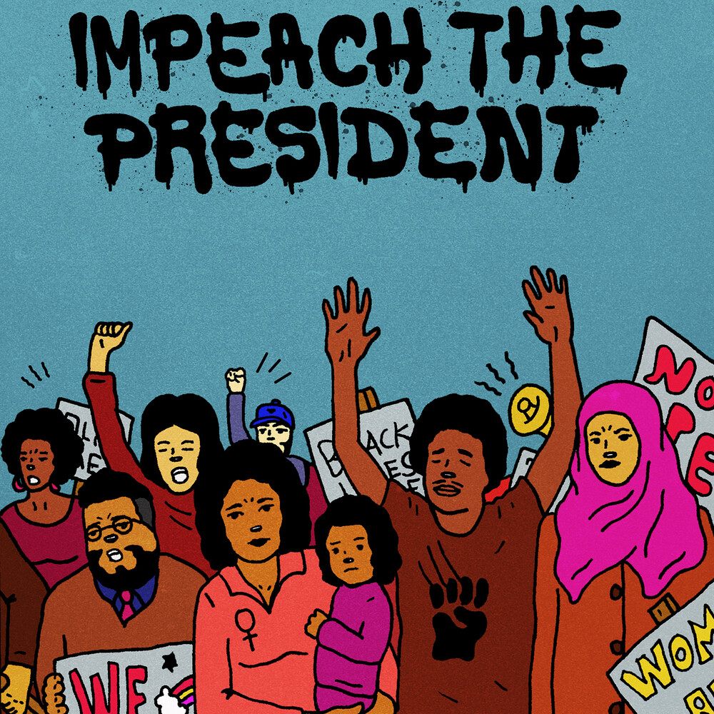 Sure Fire Soul Ensemble / Kelly Finnigan - Impeach The President (Opaque Blue Vinyl) (Blue)