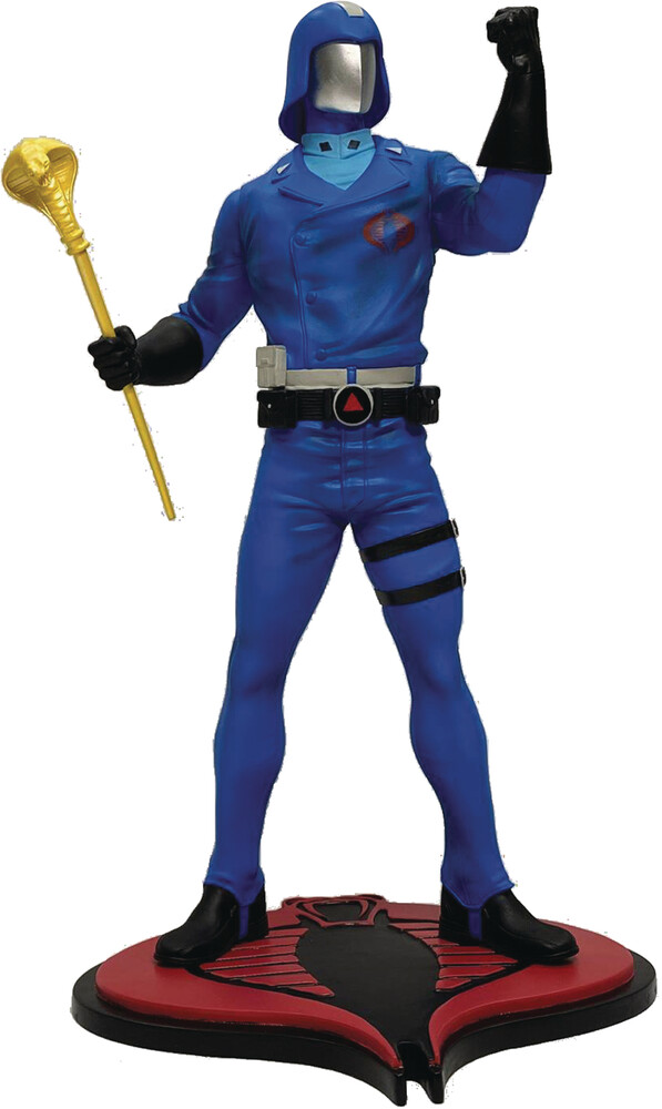 Pcs Collectibles - PCS Collectibles - GI Joe Cobra Commander 1:8 Scale PVC Statue