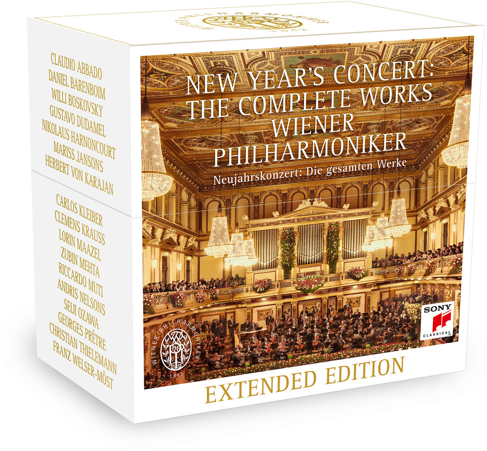 New Years Concert Complete / Various - New Year's Concert Complete / Various