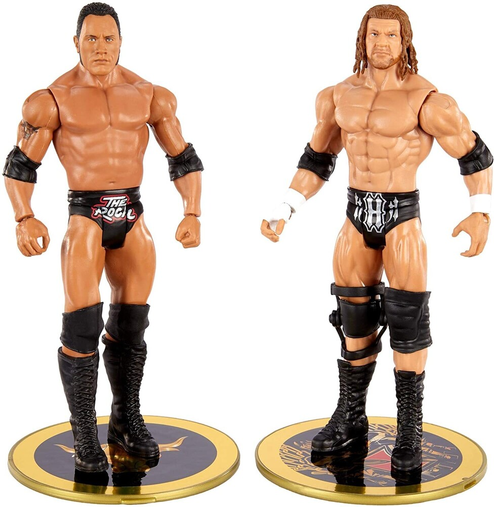 WWE - Mattel Collectible - WWE Basic Battle Pack: The Rock & Triple H