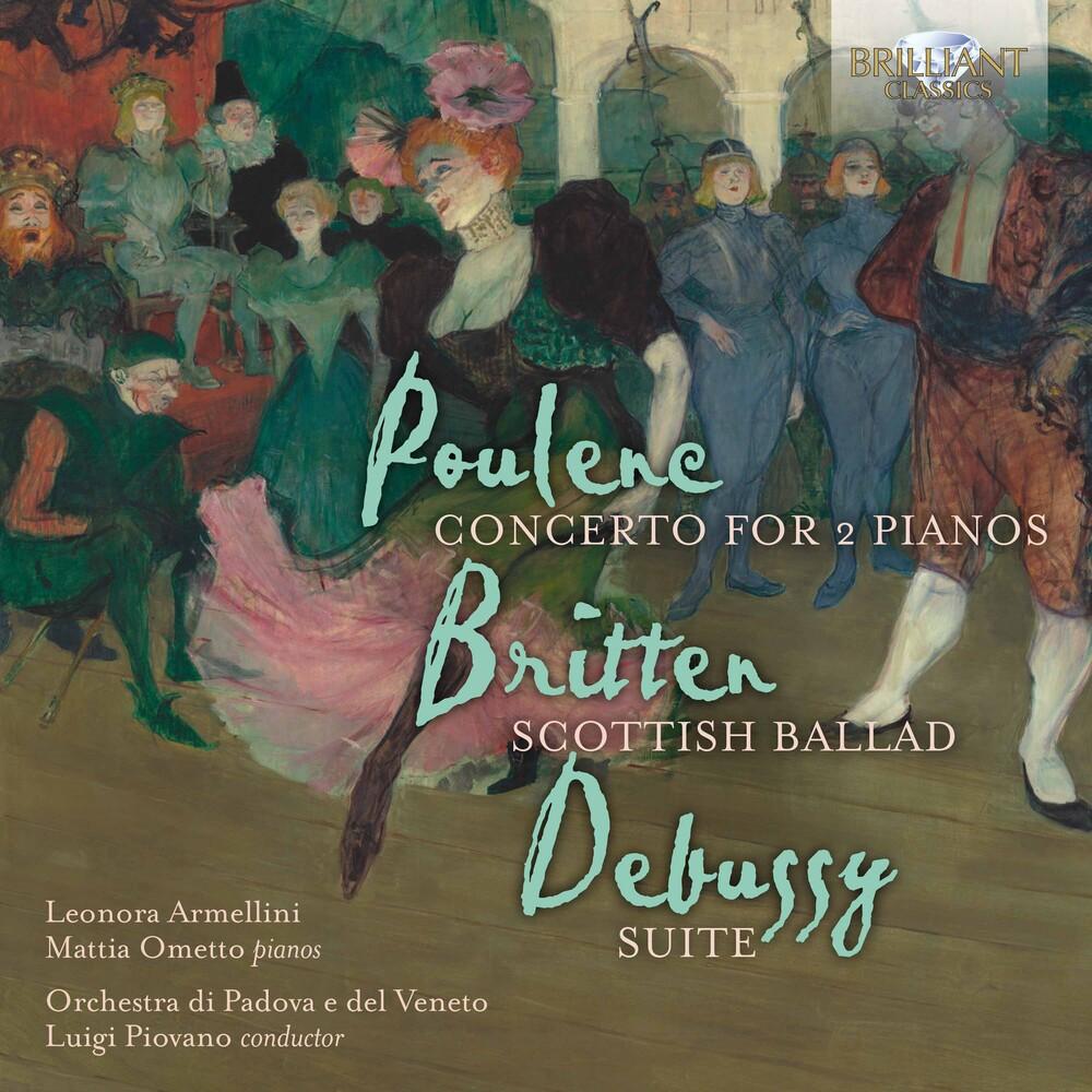 Britten / Duo Pianistico Di Padova / Piovano - Concerto for 2 Pianos