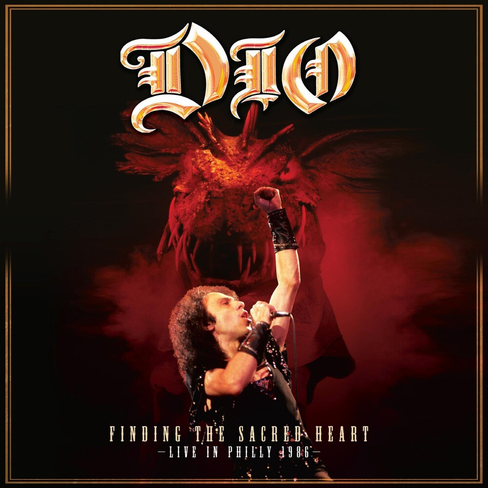 Dio - Finding The Sacred Heart - Live In Philly 1986