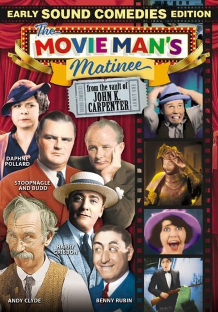 Movie Man's Matinee: Early Sound Comedies Edition - Movie Man's Matinee: Early Sound Comedies Edition