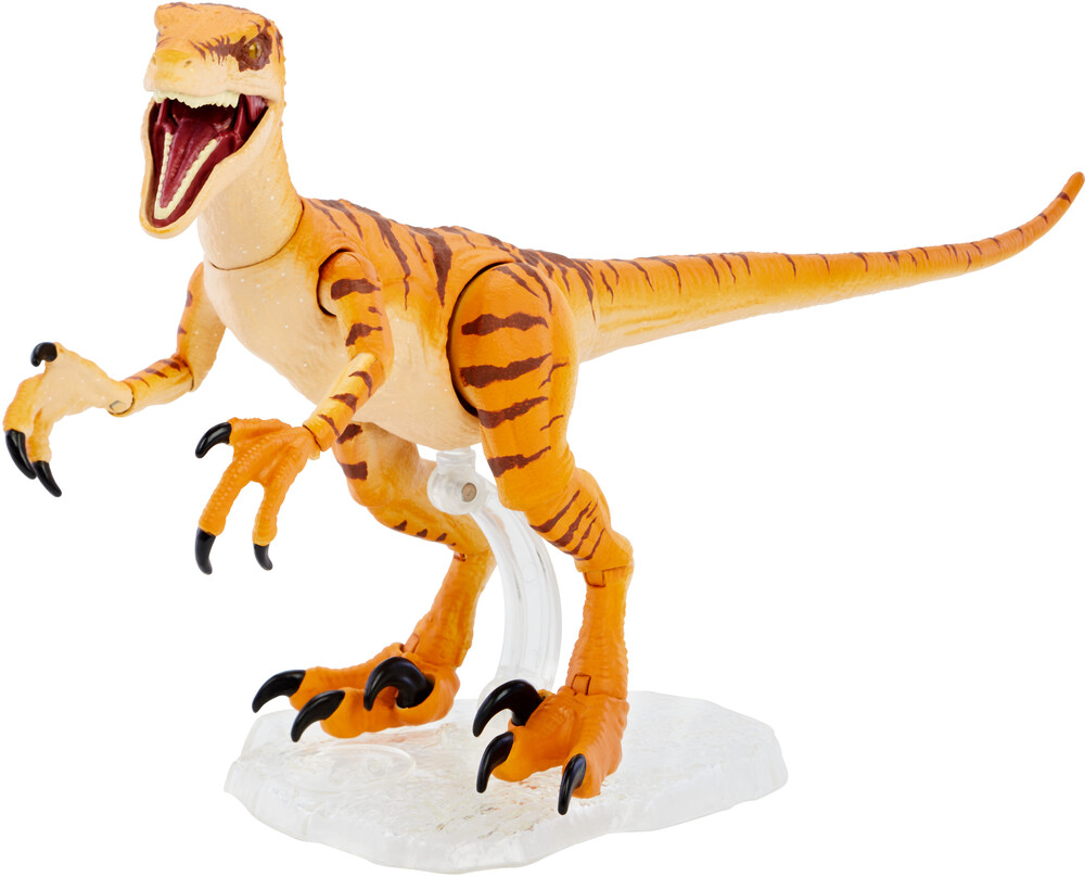 Amber Collection Jurassic World - Mattel Collectible - Amber Collection Jurassic World Tiger Raptor