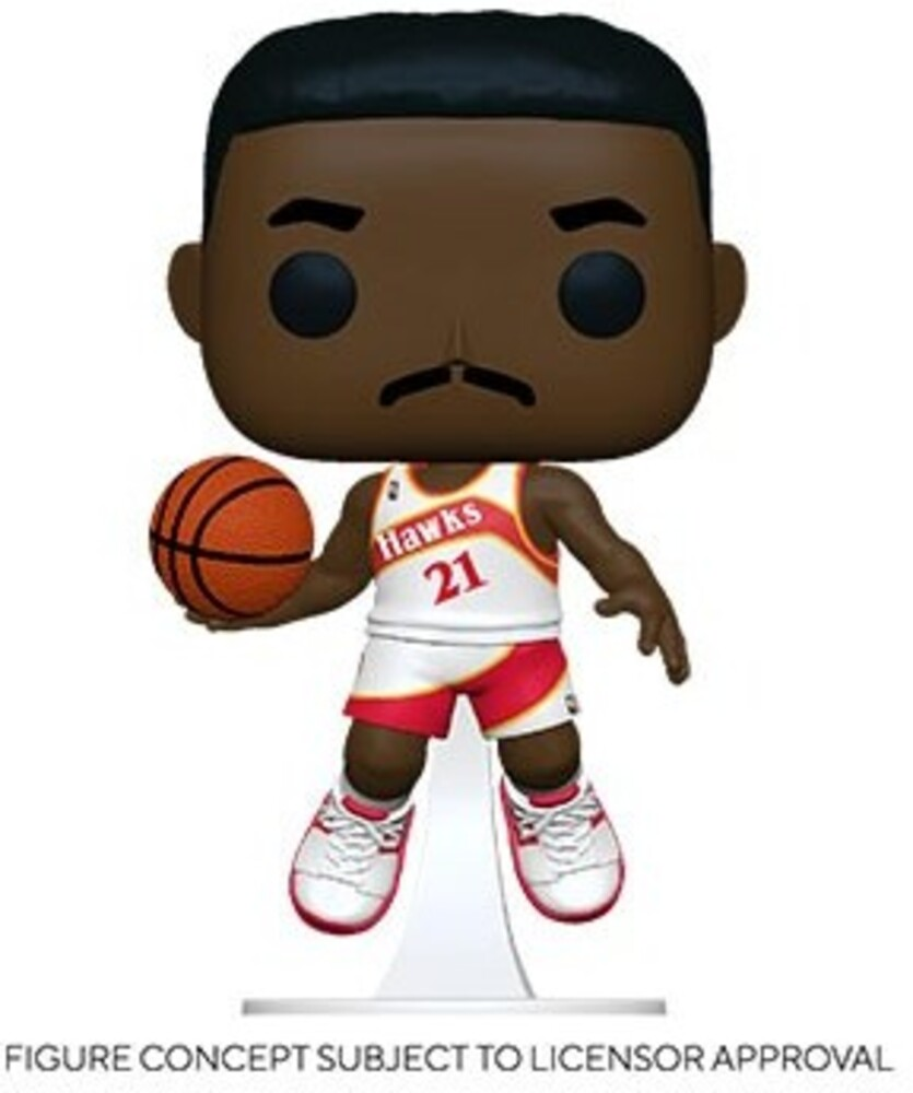 Funko Pop! NBA: - FUNKO POP! NBA: Legends- Dominique Wilkins (Hawks Home)