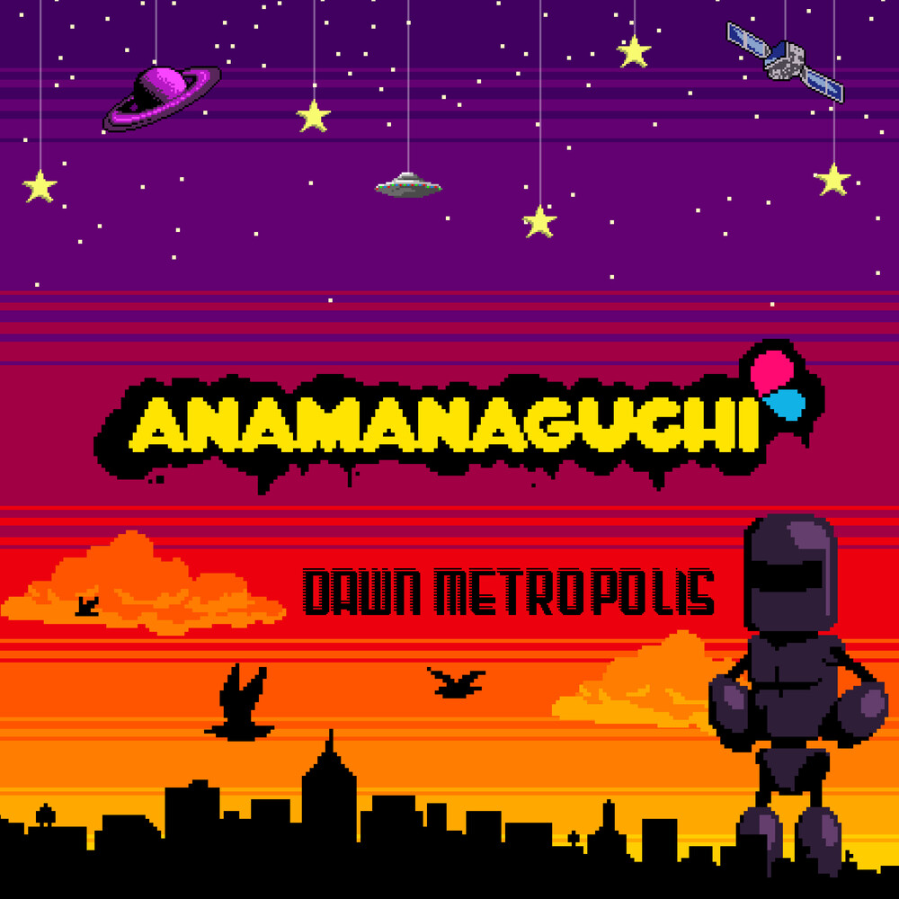 Anamanaguchi - Dawn Metropolis (Orange/Maroon/Purple Vinyl) (Org)