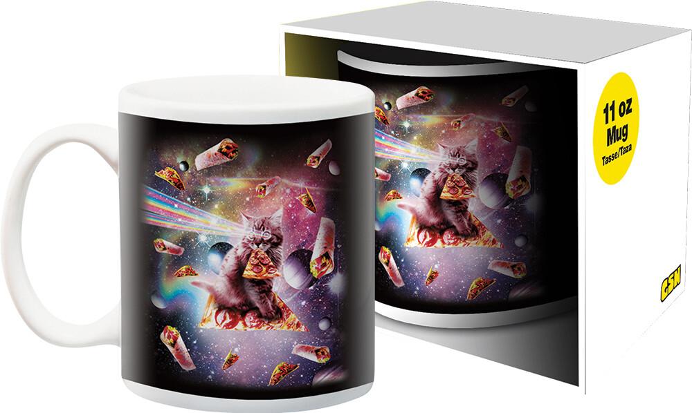 Random Galaxy Pizza Cat 11Oz Boxed Mug - Random Galaxy Pizza Cat 11oz Boxed Mug
