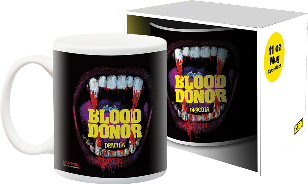 Hammer Blood Donor 11Oz Boxed Mug - Hammer Blood Donor 11oz Boxed Mug