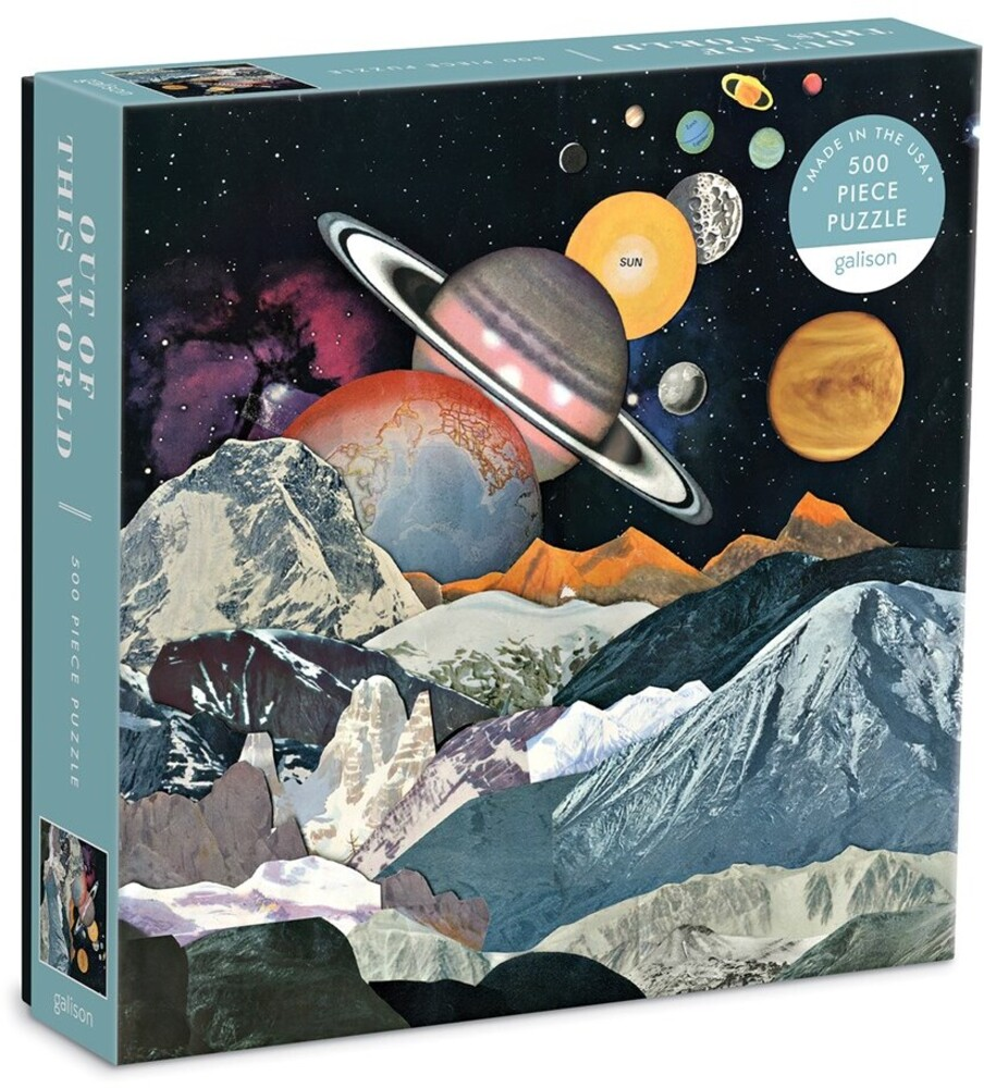 - Out of this World 500 Piece Puzzle