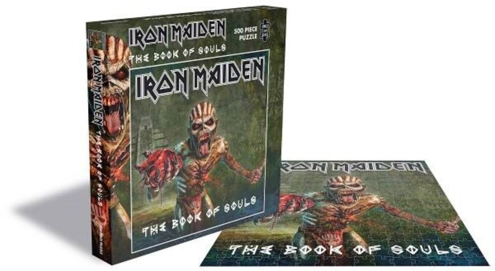 - Iron Maiden The Book Of Souls (500 Piece Jigsaw Puzzle)
