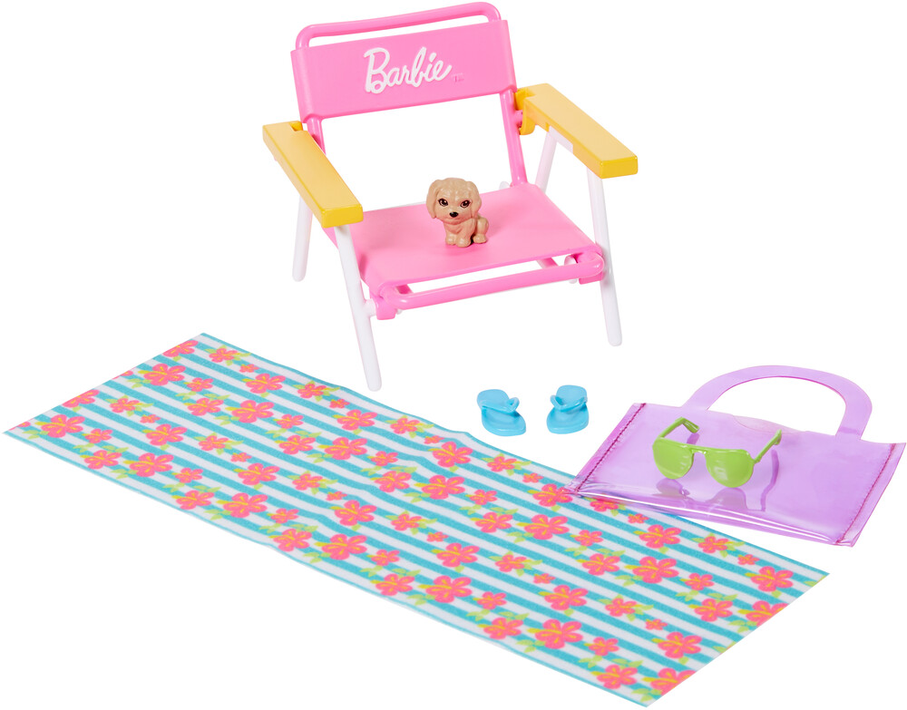 - Mattel - Barbie Beach Accessory Set