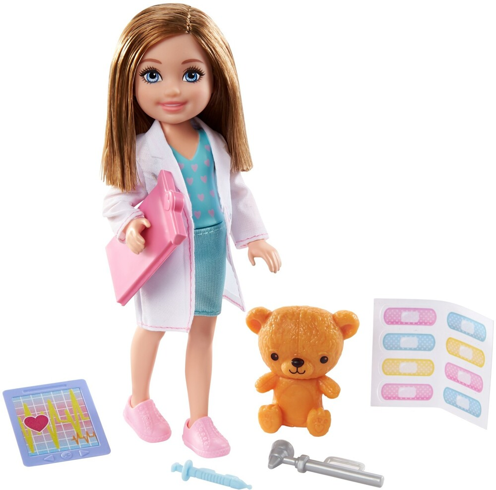 - Mattel - Barbie Chelsea Can Be Doctor Doll and Playset