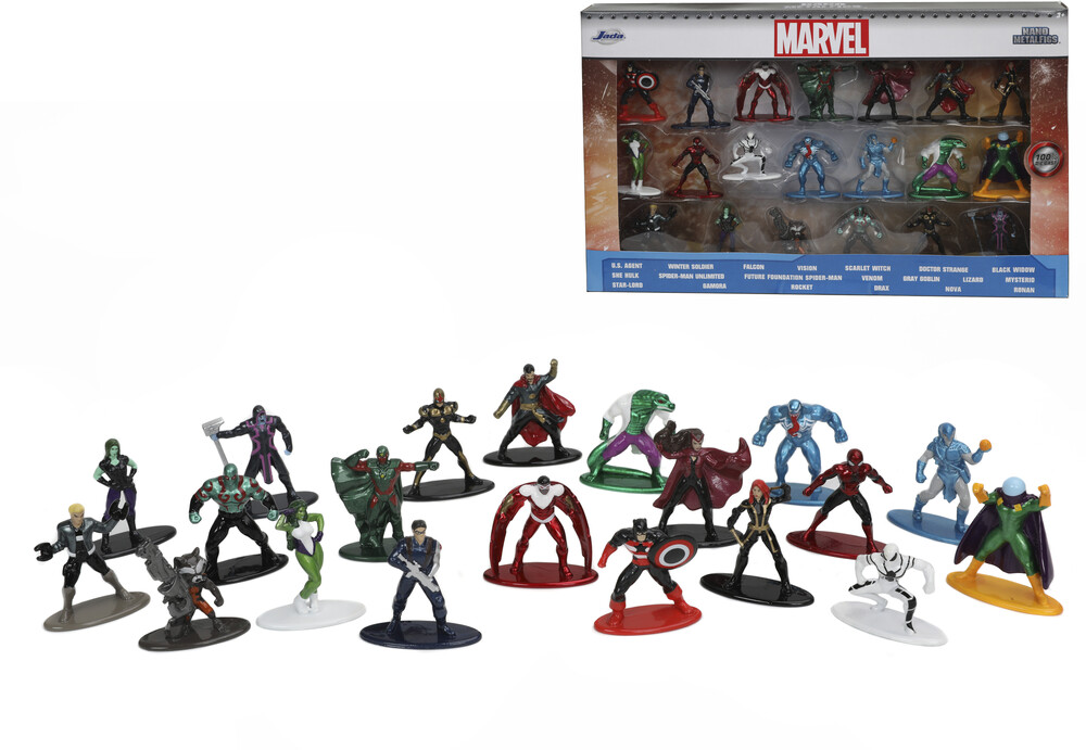 - Nano Metalfigs Marvel 20 Pk Wave 4 (Clcb) (Fig)