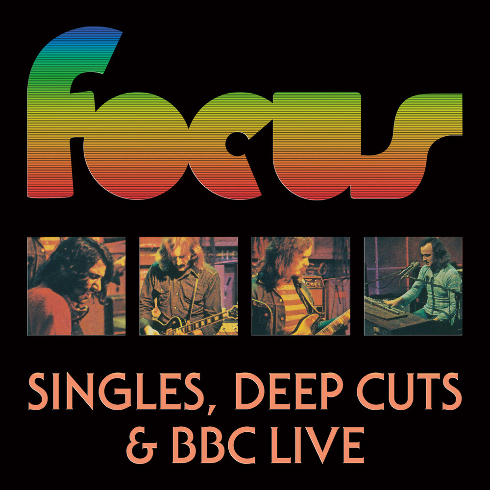 Focus - Singles Deep Cuts & Bbc Live [Colored Vinyl] (Gate) [Limited Edition]