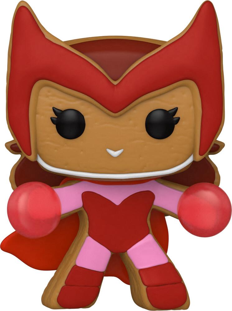 Funko Pop! Marvel: - Holiday- Scarlet Witch (Vfig)